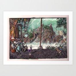 L'animator Art Print