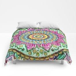 Mandala Technicolor Comforters