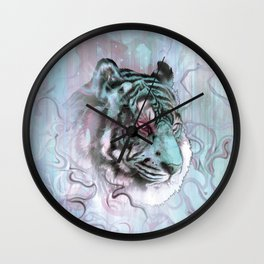 Illusive By Nature (Blue) Wall Clock