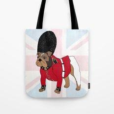 British Bulldog Guard Tote Bag