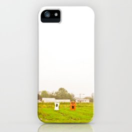 ghost field iPhone Case