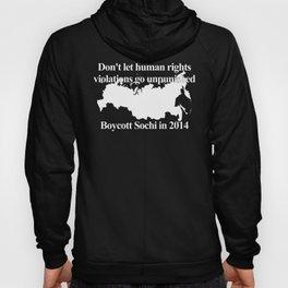 Boycott Sochi Hoody