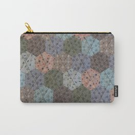 Hexagons Galore Carry-All Pouch