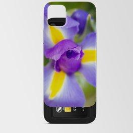 Purple Iris iPhone Card Case