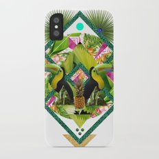 ▲ TROPICANA ▲ by KRIS TATE x BOHEMIAN BLAST iPhone X Slim Case