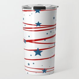 Stars and Stripes Travel Mug