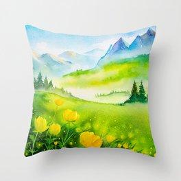 Spring scenery #5 Throw Pillow