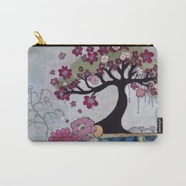 """""""Tranquility Of A Hilo Tree"""" Carry-All Pouch"""