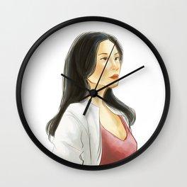 elementary: heroine Wall Clock