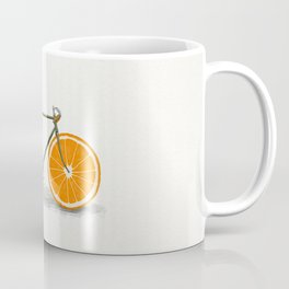 Zest (Orange Wheels) Coffee Mug