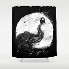 All of Space and Time Shower Curtain