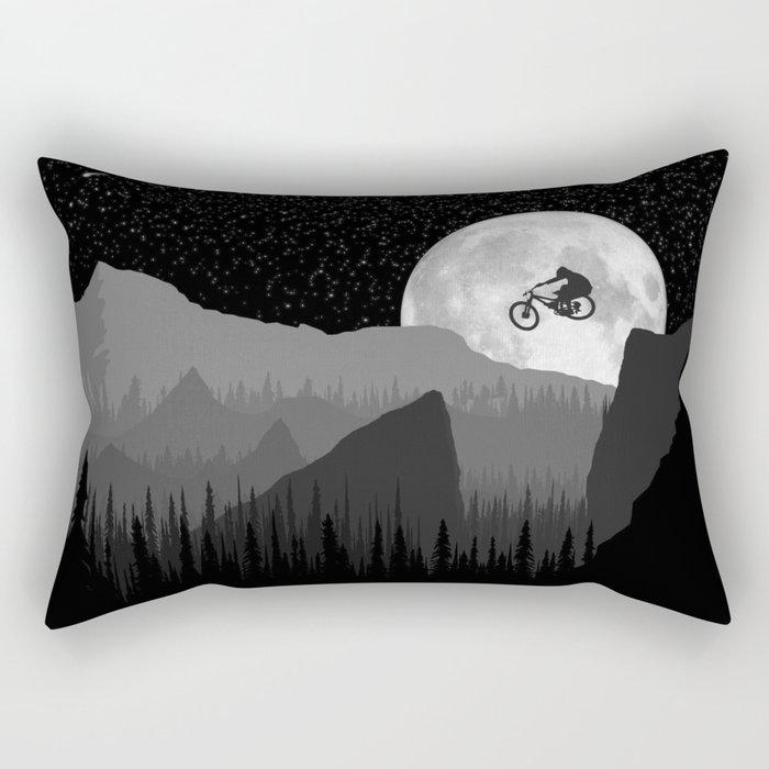 MTB Moon Rectangular Pillow