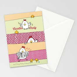 Cocottes Party Stationery Cards