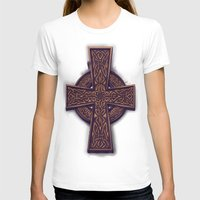 celtic T-shirts featuring Celtic Cross by pakowacz