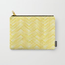 Zigzag pattern 4 Carry-All Pouch