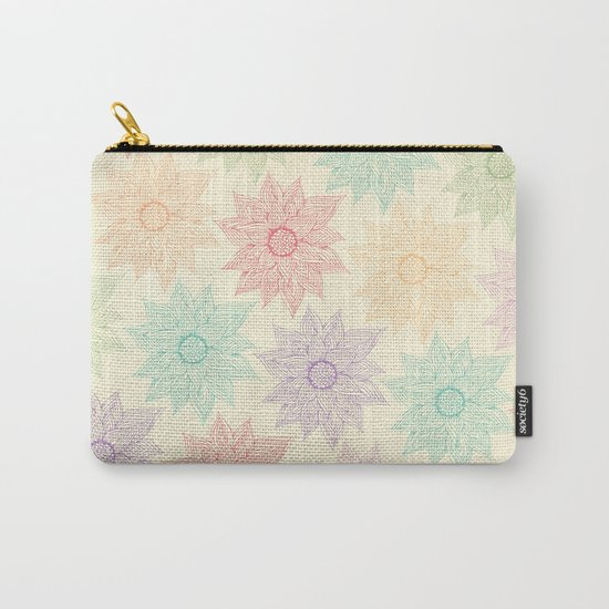 Spring Floral Carry-All Pouch
