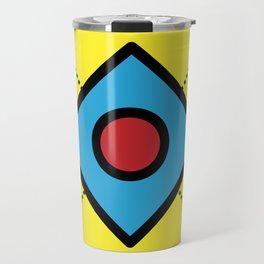 Geometric Fun 003 Travel Mug