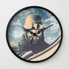 Flight Cat Wall Clock