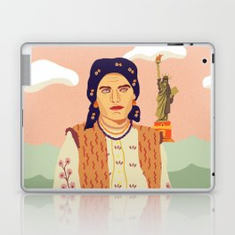 The Immigrant's Dream Laptop & iPad Skin