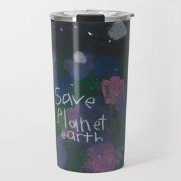 Save Planet Earth Travel Mug