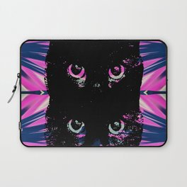 Black Cat Rising Laptop Sleeve