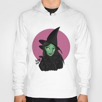 wicked Hoodies featuring Wicked by Shelby Wolf