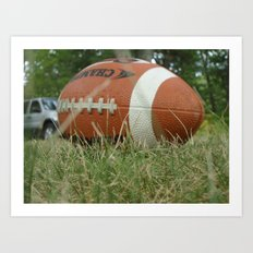 Let's Play Ball Art Print