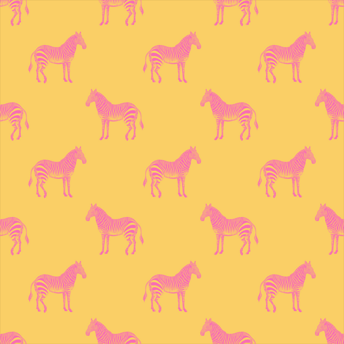 Zebra Pattern in Pink and Yellow Comforters