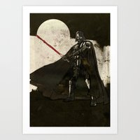 darth vader Art Prints featuring Darth Vader by Peter Coleman