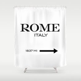 Rome Shower Curtain