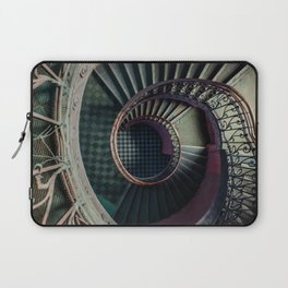 Art Deco spiral staircse Laptop Sleeve