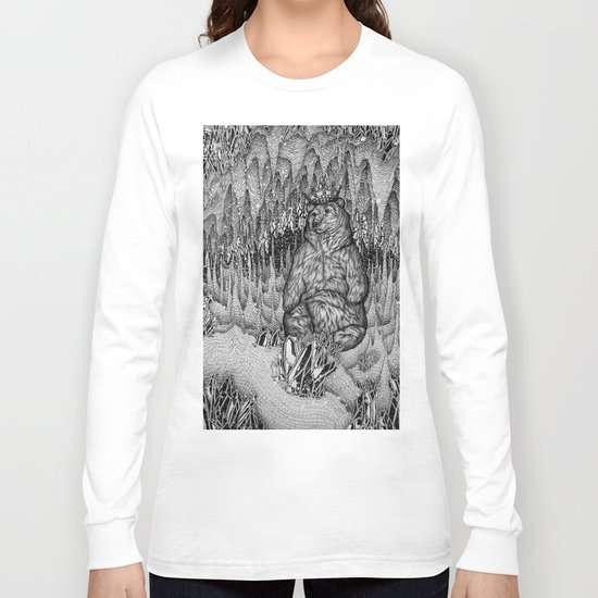 Cave of the Bear King Long Sleeve T-shirt