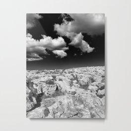 desert rocks and sky Metal Print