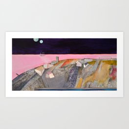 Nisja: the night train 11 Art Print