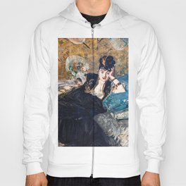 Edouard Manet - The Lady with Fans Hoody