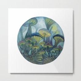 Mushroom Wonderland Metal Print