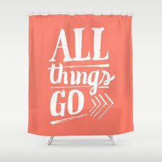 All things go Shower Curtain
