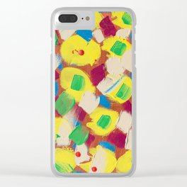 Interesting Thoughts by Australian Young Artist Lang Jing Niya Potdar – Acrylic Painting on Canvas Clear iPhone Case