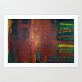 Color Quadrant Art Print