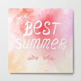 The best summer poster Metal Print