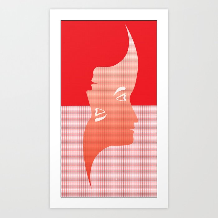 Upside Down, Right Side Up Art Print