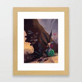 Pixie forest concert Framed Art Print