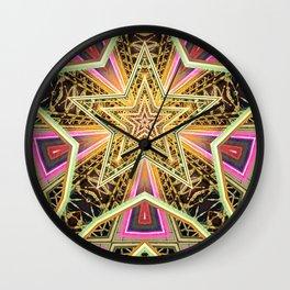 Time Travel Machine Wall Clock