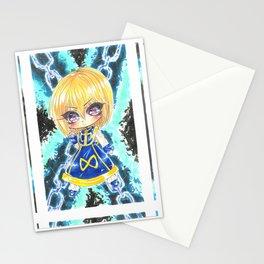 hxh chibi kurapika Stationery Cards