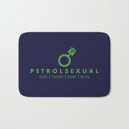 PETROLSEXUAL v3 HQvector Bath Mat