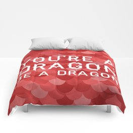Be A Dragon Comforters