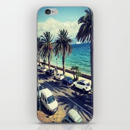 Palm trees from France  iPhone Skin