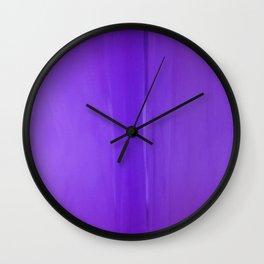 Abstract Purples Wall Clock