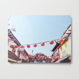Los Angeles Chinatown Metal Print