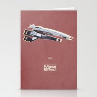 mass effect Stationery Cards featuring Mass Effect by Simon Alenius